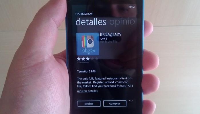 Itsdagram para Windows Phone