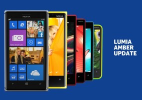 Lumia Amber Update