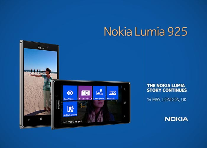 Presentación en Londres del nuevo Nokia Lumia 925