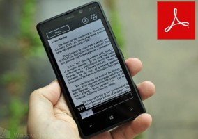 Adobe Reader Windows Phone 8
