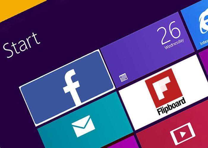 Facebook y Flipboard proximamente en Windows