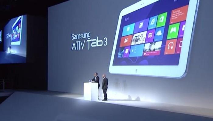 Presentación Samsung ATIV Tab 3