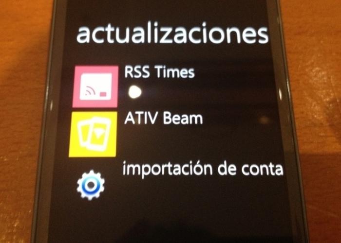 Samsung Zone ATIV Beam