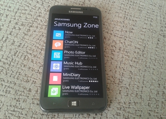 Samsung Zone Windows Phone Store