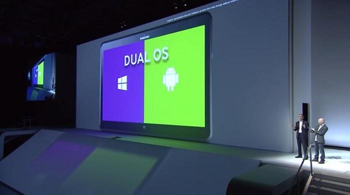 Samsung ATIV Q con arranque dual
