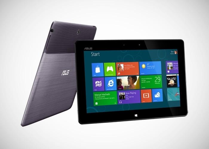 Tablet de ASUS con Windows RT