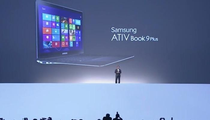 Presentación del Samsung ATIV Book 9 Plus