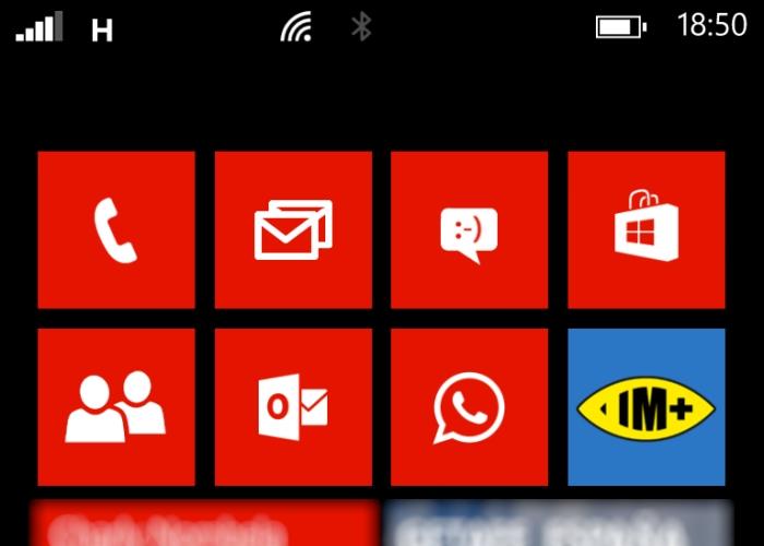 barra de estado windows phone