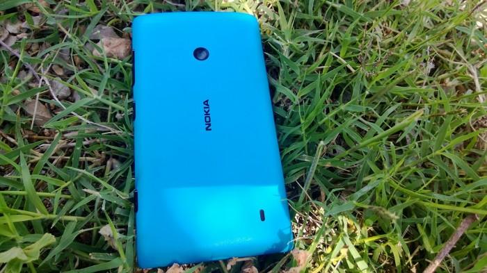 Parte trasera del Nokia Lumia 520