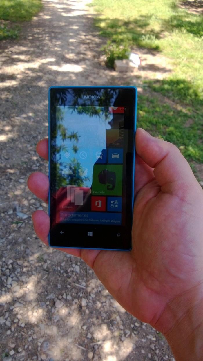 Pantalla del Nokia Lumia 920