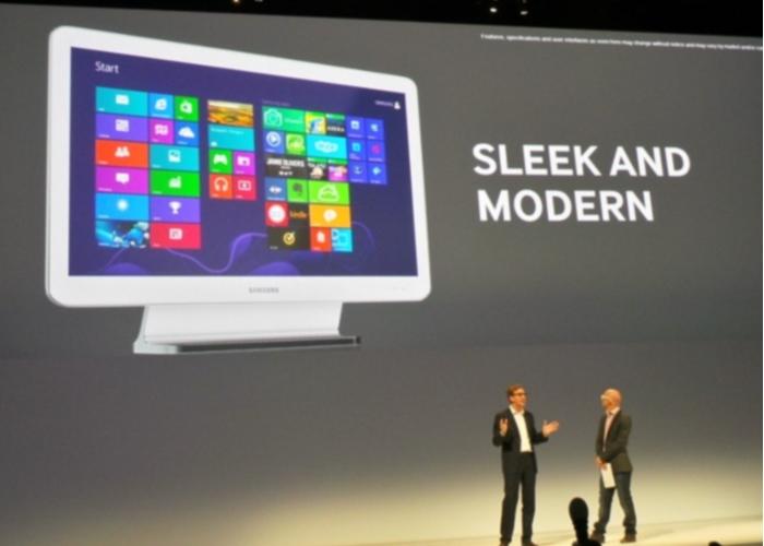 Presentación Samsung ATIV One 5 Style