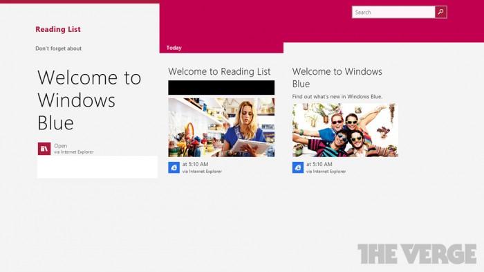 Nueva aplicación de Windows 8.1