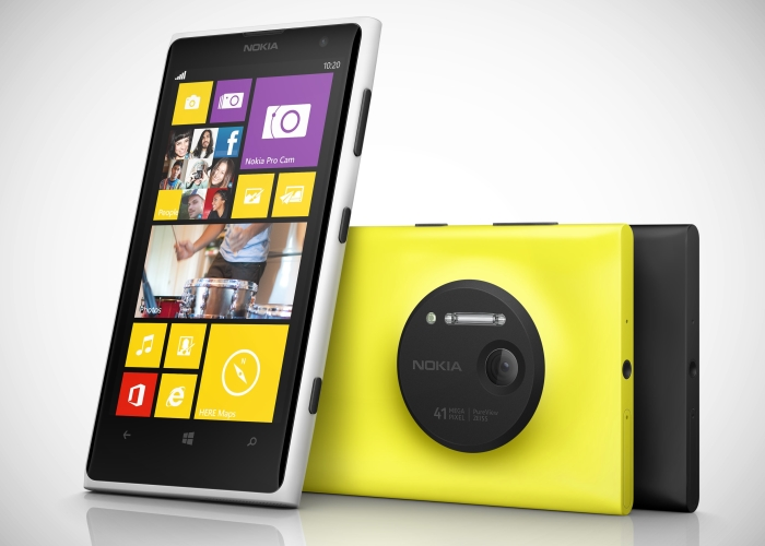 Nokia Lumia 1020 Frontal