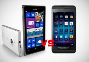 Nokia versus BlackBerry