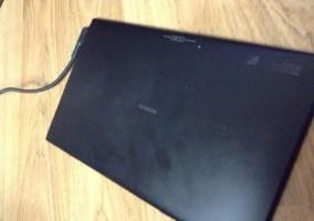 Parte trasera de la supuesta tablet de Nokia