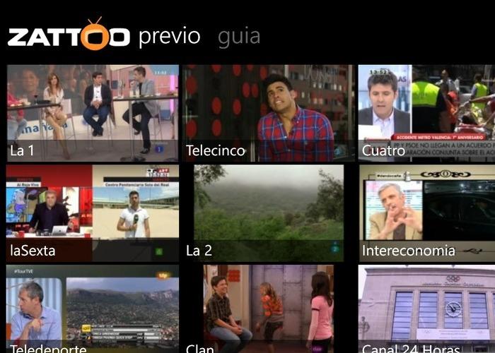 Zatoo Aplicación TV