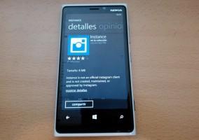 Instance para Windows Phone 8