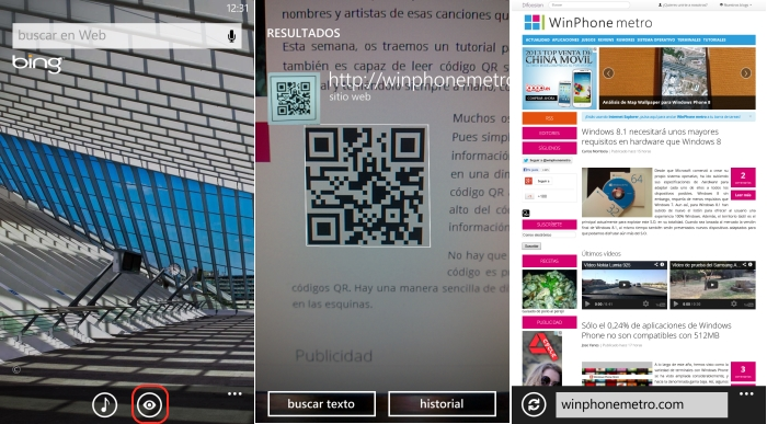 leer codigos qr windows phone
