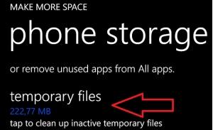 obtener mas espacio htc windows phone 8