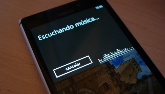 reconocer canciones windows phone