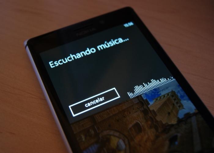 reconocer canciones windows phone