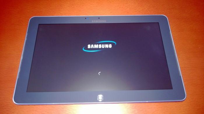 Foto de la tablet de Samsung