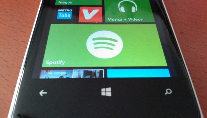 Spotify para Windows Phone 8