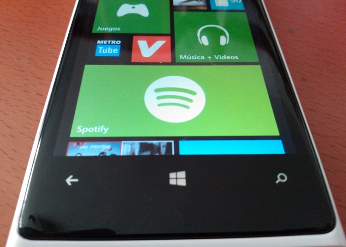 Spotify para Windows Phone 8