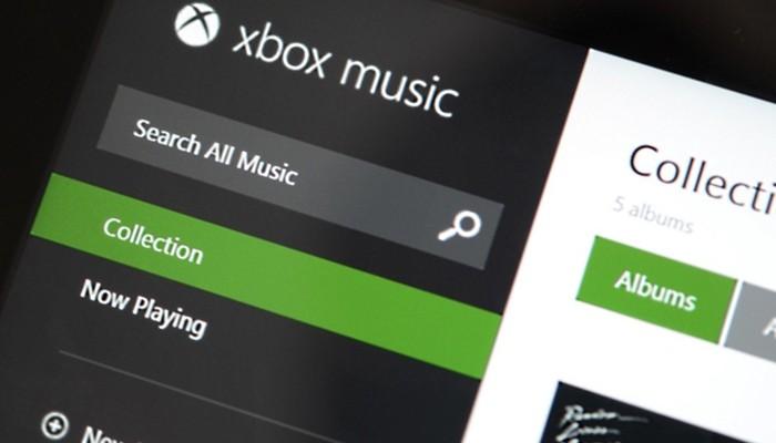 xbox music servicio web