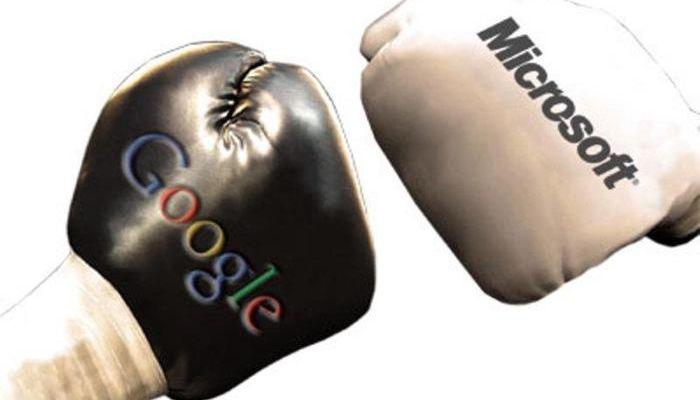 Enfrentamiento entre Google y Microsoft por YouTube