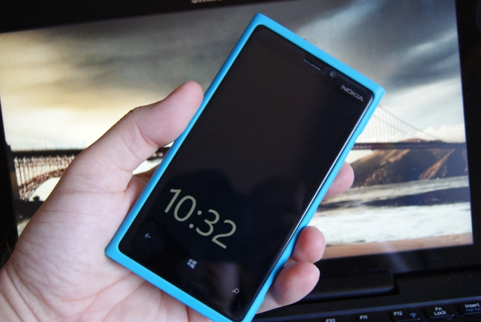 Nokia Lumia 920 con windows phone gdr amber