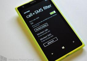 Filtros de llamadas y SMS con Nokia Amber