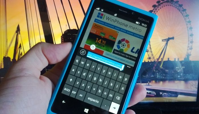 teclado windows phone
