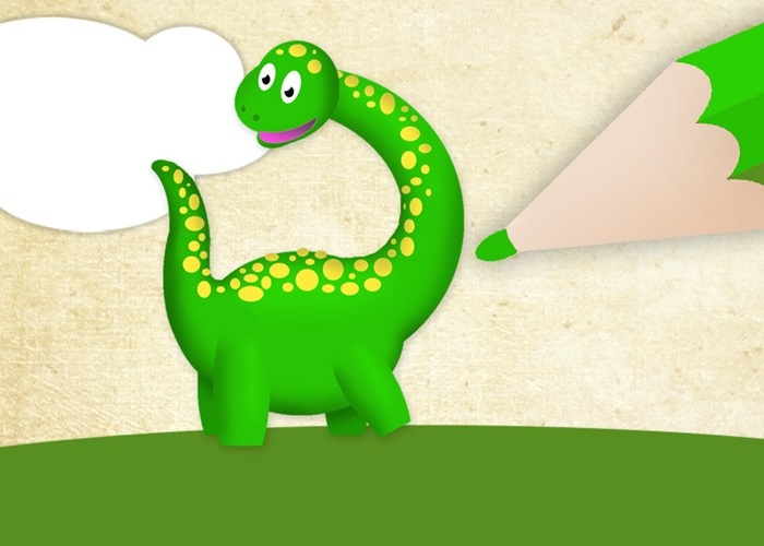 Pinta Y Dibuja En Windows 8 Con Colorea Dinosaurios