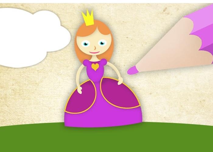 La Aplicación Para Los Más Peques Se Llama Colorea Princesas