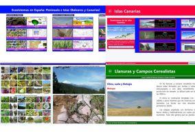 Aplicación Ecosistema en España para Windows 8
