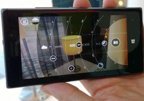 Nokia Pro Cam en un Lumia 925