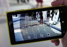 Menú aplicación Nokia Pro Cam