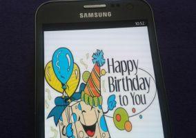 Aplicación de felicitación Happy Birthday
