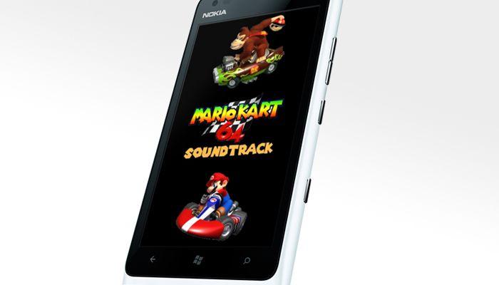 Sonidos de Mario Kart 64