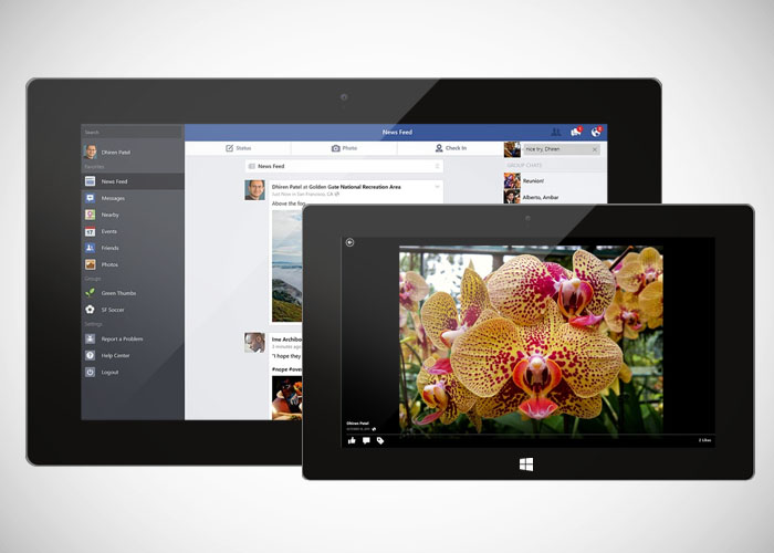 Nuevo Facebook para Windows 8.1