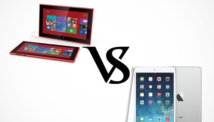 Enfrentamos a los tablets de Apple y Nokia