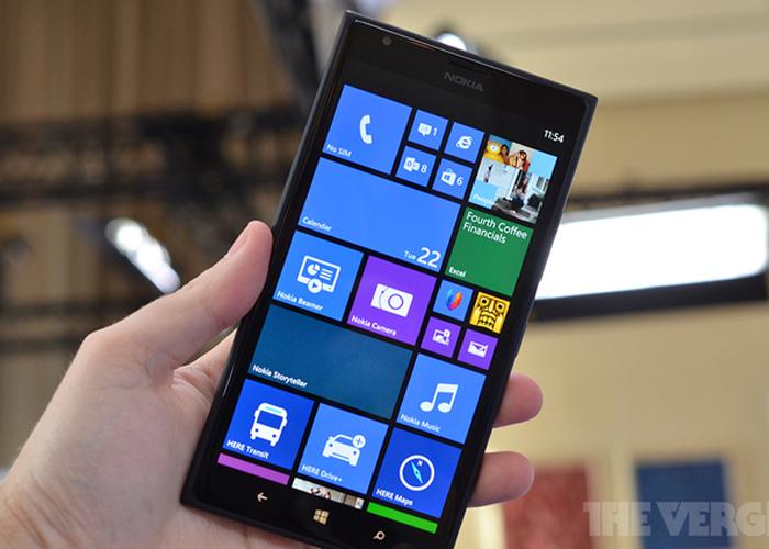 Nokia Lumia 1520 pantalla