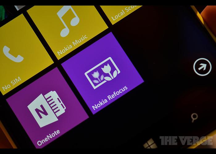 Nokia Refocus aplicación