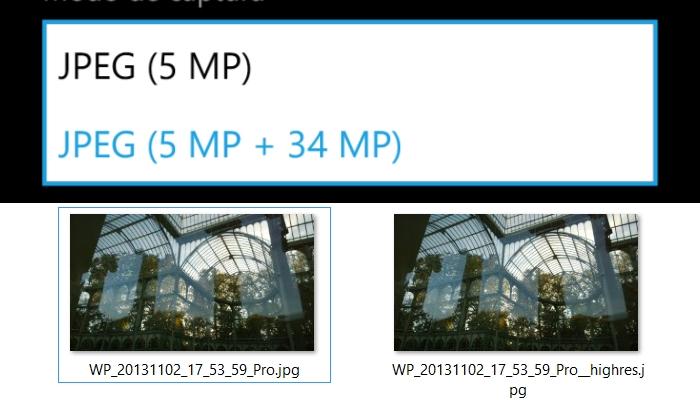 nokia lumia 1020 doble fichero