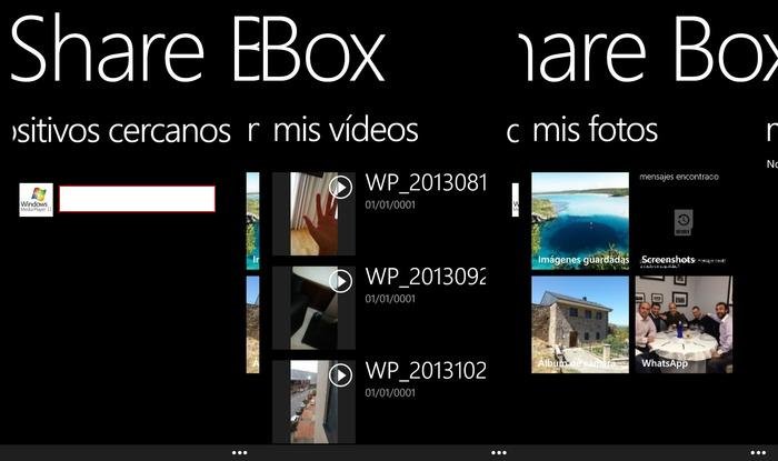 Capturas Share Box Samsung