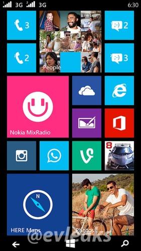Lumia 630 Moneypenny Pantalla Inicio