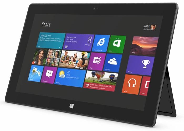 Microsoft Surface RT 1