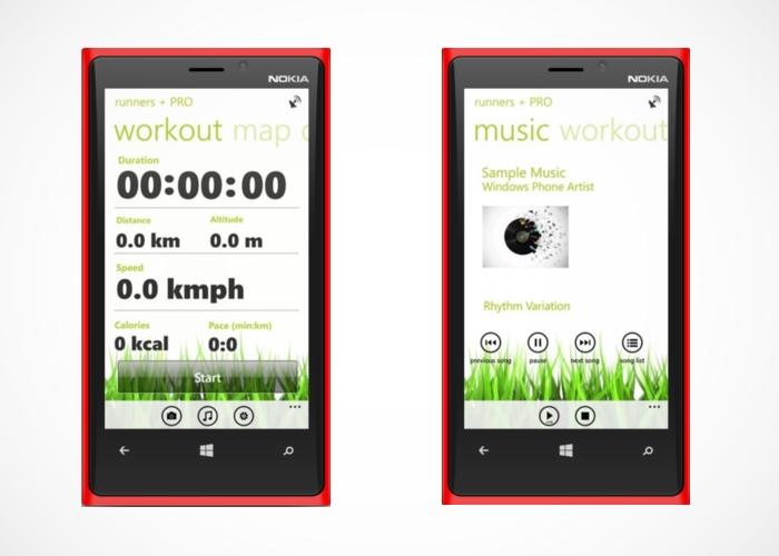 Aplicación para salir a correr