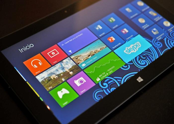 Dispositivos con Windows 8